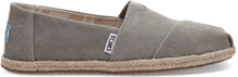 Drizzle Grey Washed Canvas Women's Espadrilles