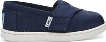 Navy Canvas Tiny TOMS Classics 2.0