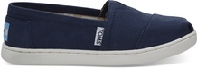 Navy Canvas TOMS Youth Classics 2.5