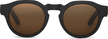 TRAVELER Bryton Matte Black Honey/Brown Polarized