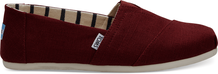 Black Cherry Canvas Men's Classics Venice Collection