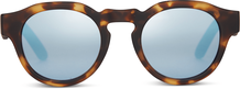 TRAVELER Bryton Blond Tortoise/Blue Mirrors
