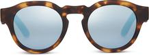 TRAVELER Bryton Blond Tortoise/Blue Mirrors