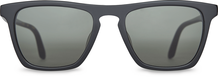 Dawson Shiny Black /Green Grey Polarized Lens