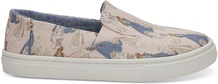 Disney X TOMS Pink Sleeping Beauty Youth Luca Slip-Ons