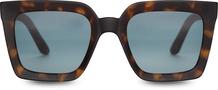 TRAVELER-Zuma Matte Blonde Tortoise/ Aqua Gradient Lens