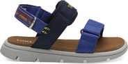 Navy Global Webbing Tiny Ray Sandals