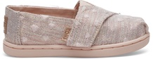 Rose Cloud Hearts Twill Glimmer Embroidery Tiny Classics