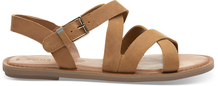 Tan Leather Women's Sicily Sandals