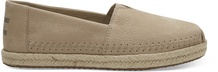 Stown Brown Nubuck Women's Alpargatas