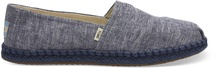 Navy Chambray on Rope Women's Alpargata