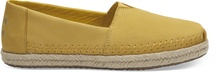 Electric Yellow Nubuck Women's Alpargatas