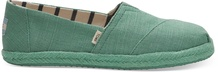 Winter Green Canvas on Mono Rope Women's Alpargatas