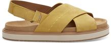 Electric Yellow Nubuck Marisa Women's Sandals