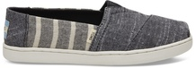 Black Cabana Stripe Youth Classics