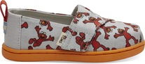 Light Grey Elmo Printed Canvas Tiny TOMS Classics