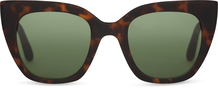 TRAVELER Sydney Matte Blonde Tortoise/Bottle Green