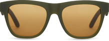 TRAVELER Dalston Matte Rifle Green /Amber Mirror Lens