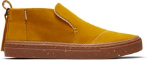 Water Resistant Yellow Suede Paxton Women's Slip-Ons