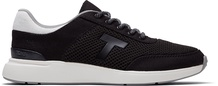 Black Canvas Mesh Arroyo Women's Sneakers