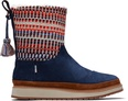 Blue Suede Nepal Tweed Makenna Women's Boots