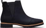 Black Nubuck Leather Cleo Women's Boots