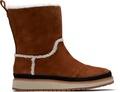 Cinnamon Suede Women's Makenna Boots
