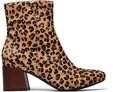 Desert Tan Leopard Pattern Women's Emmy Boots