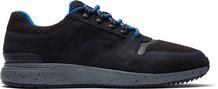Waterproof Black Distressed Leather Men's Arroyo Sneakers
