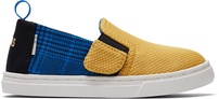 Butternut Sport Knit Plaid Tiny TOMS Luca Slip-Ons