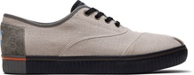 Oxford Tan Canvas Mens Cordones Indio