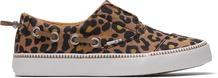 Leopard Pasadena Kids Slip-Ons