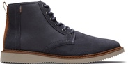 Water-Resistant Grey Suede Men's Porter Boots