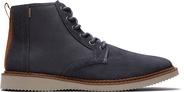 Water-Resistant Grey Suede Men's Porter Boots