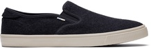 Black Felt Men's Baja Slip-Ons Topanga Collection