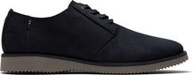 Black Distressed Leather Men's Preston Dress Shoes