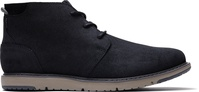 Black Leather Navi Men's Boots