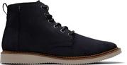 Black Waxy Suede Men's Porter Boots
