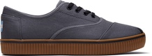 Grey Canvas Mens Cordones Indio