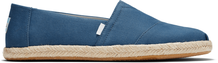 Plant Dye Indigo Canvas Men's Espadrille