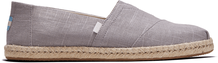 Grey Linen Men's Espadrilles
