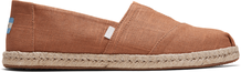 Brown Linen Men's Espadrilles
