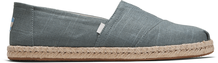Bonsai Green Linen Men's Espadrilles