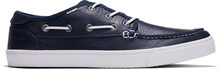 Navy Leather Men's Dorado Casual Lace-up