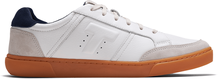 Off White Leather-Suede Men Leandro Sneaker