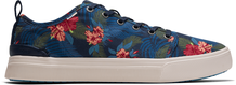 Navy Tropical Heritage Canvas Men's TRVL LITE Low Sneakers