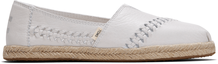 Off White Leather-Rope Women's Alpargata
