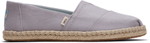 Plant Dye Grey Canvas Women's Espadrilles