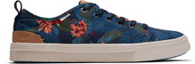 Navy Tropical Print Women's TRVL LITE Low Sneakers