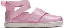 Pink Shiny Glitz Tiny TOMS Ballerina Classics